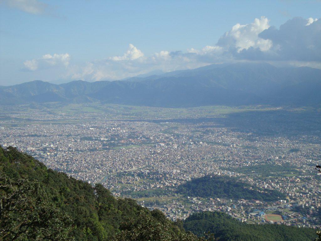 Kathmandu_valley_scene_Shivapuri_Nagarjun